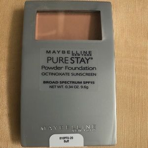 Maybelline Pure Stay Powder Foundation Color Buff